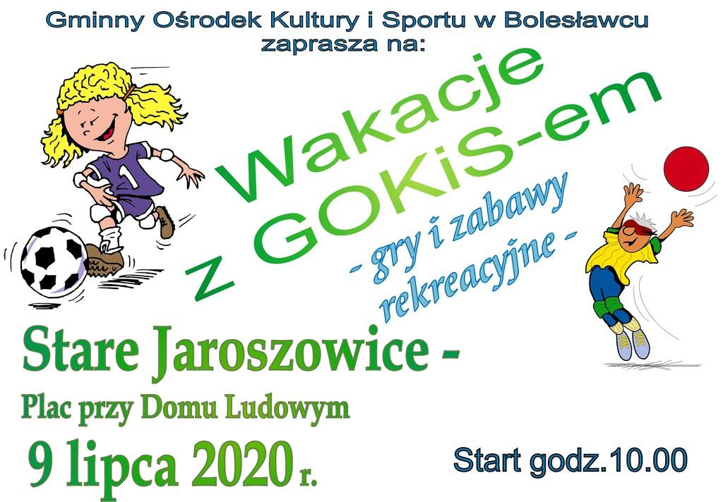 Plakat - Wakacje Stare Jaroszowice 2020.jpeg