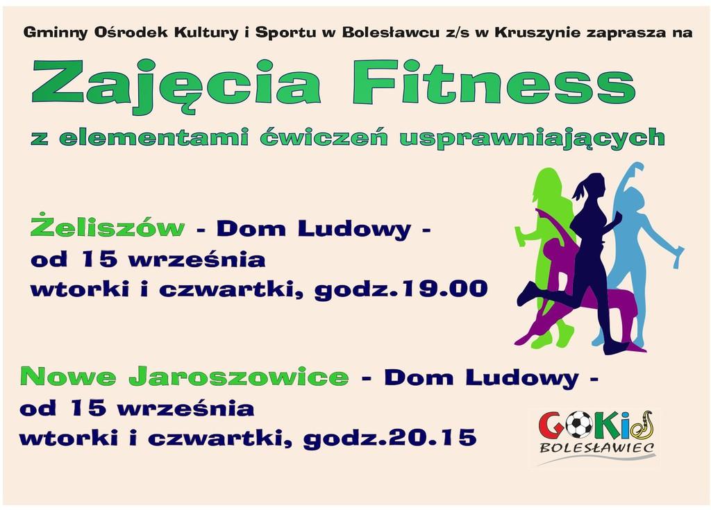 Plakat zajęcia fitness Żeliszów i Nowe.jpeg