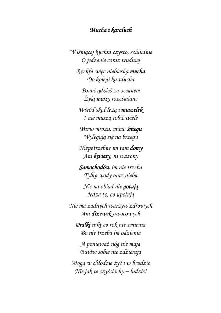 Konkurs obrazkowy wiersz Mucha i karaluch.jpeg