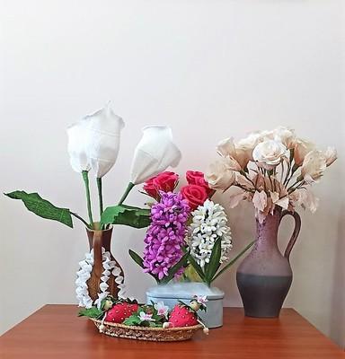 Galeria Kwiaty z bibuły - Danusia Wiśniewska